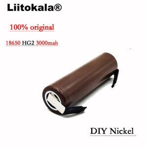 Image 3 - 2020 8 Pçs/lote HG2 Liitokala 18650 bateria 3000mAh 18650 HG2 descarga 3.6V 30A, dedicado DBHG2 baterias + DIY Níquel