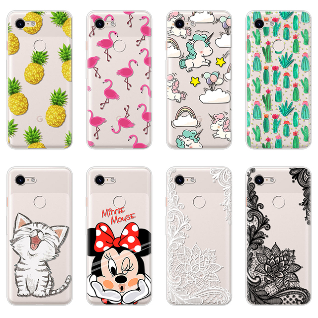 on sale 3a6ac 0472b US $1.01 13% OFF|Minnie Phone Case for Google Pixel 3 Case Silicone Soft  tpu for Google Pixel 3 Cover Coque for Google Pixel 3 XL Case Funda Capa-in  ...