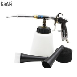 (Z-020) qualidade de alta pressão aço inoxidável japonês bearring tubo tornado arma preto para lavagem do carro (1 arma inteira)