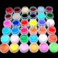 COSCELIA 36 Light Pure Color UV Gel Nail Art Tips Summer DIY Decoration for Nail Manicure Gel Nail Polish Extension