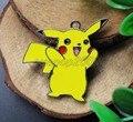 Nuevo 20 Unids Pokemon Pikachu Accesorios colgantes del Metal, encantos Regalos de la Fiesta de La Joyería S113