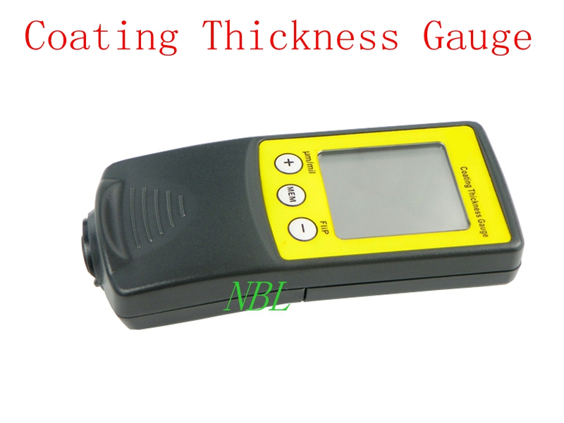 Digital FILM Coating Thickness Gauge Paint Meter Tester 8801F 0-1250um 50mil Ferrous Type With Retail Package retail package free shipping new digital film coating thickness gauge paint meter tester with battery for car paint thickness