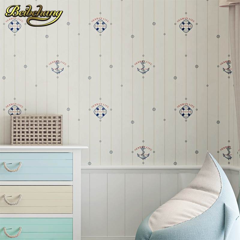beibehang papel de parede 3D Cartoon sailing Wallpaper for Living room backdrop Wall paper roll covering wallpaper for walls 3 d beibehang custom marble pattern parquet papel de parede 3d photo mural wallpaper for walls 3 d living room bathroom wall paper