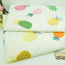 100*160 см ананас лоскутное изделие из хлопчатобумажной ткани ручной работы DIY шитье Детские простыни платье платок