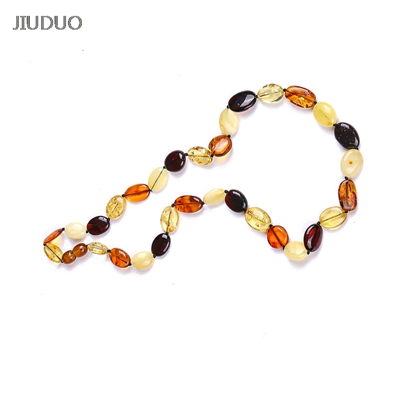 Natural amber beeswax original stone distribution chain Gold / Rainbow sweater chain Necklace female male models gold multi layer necklace sweater chain necklace