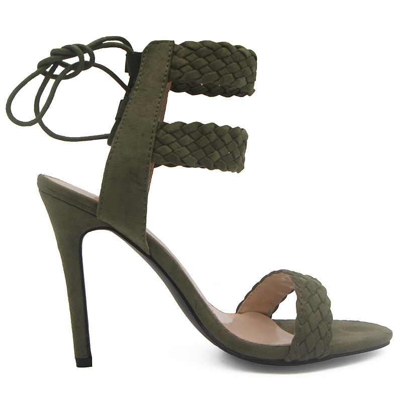 LALA IKAI Ankle Strap Sandals Women (4)