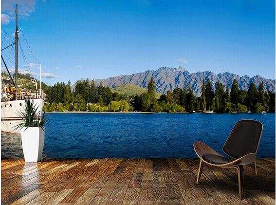 العرف المناظر الطبيعية خلفيات ، Queenstown ، نيوزيلندا