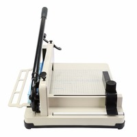 easily cut 80g paper, 400 sheets high or approx 1.5 A4 Paper Heavy Duty Steel 12 Industrial Paper Cutter Perfect