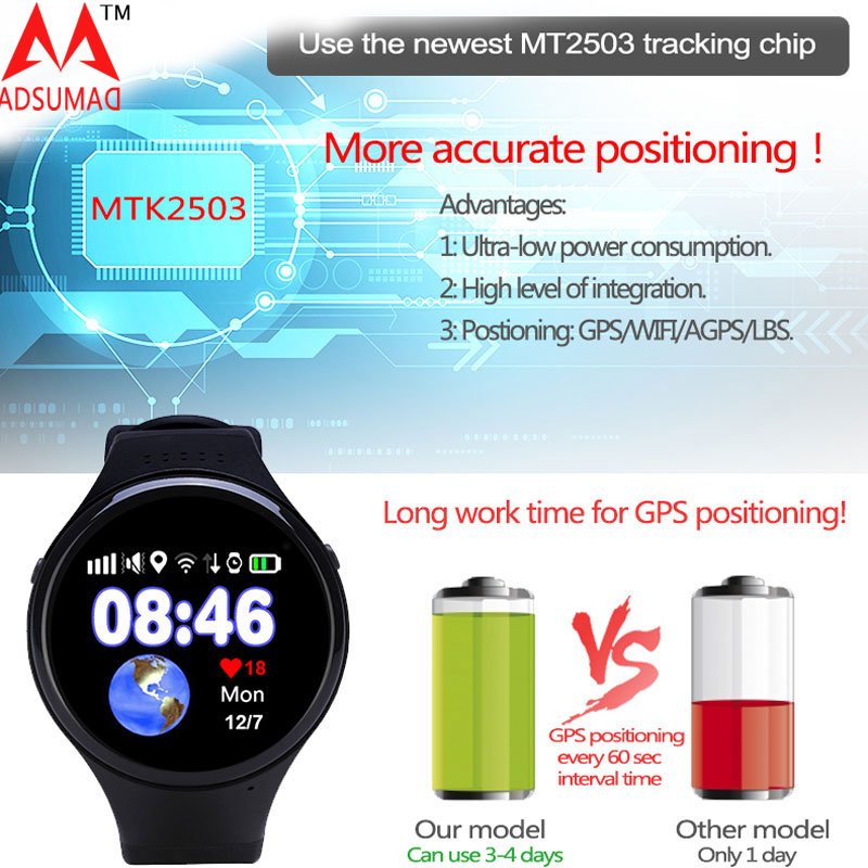 T88 Kids Smart watch Phone Smart Baby Watch Round Screen MTK2503 2G Smart Wristwatch SOS WiFi GPS Pedometer SIM Card Bluetooth 1 6 screen stainless steel bluetooth 3 0 sim camera hd dv recording pedometer 4g memory smart watch phone security msn p20
