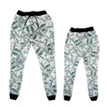 New Fashion Mens/Womens Joggers Pants Graphic 3D Printed Dollar Bills Casual Sweatpant Unisex Trousers