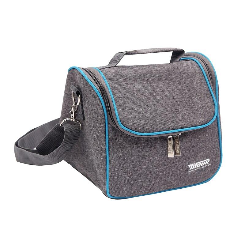 Leisure Ice Cooler Shoulder font b Bags b font Insulated Beer Drink Handbag Family Picnic Bento