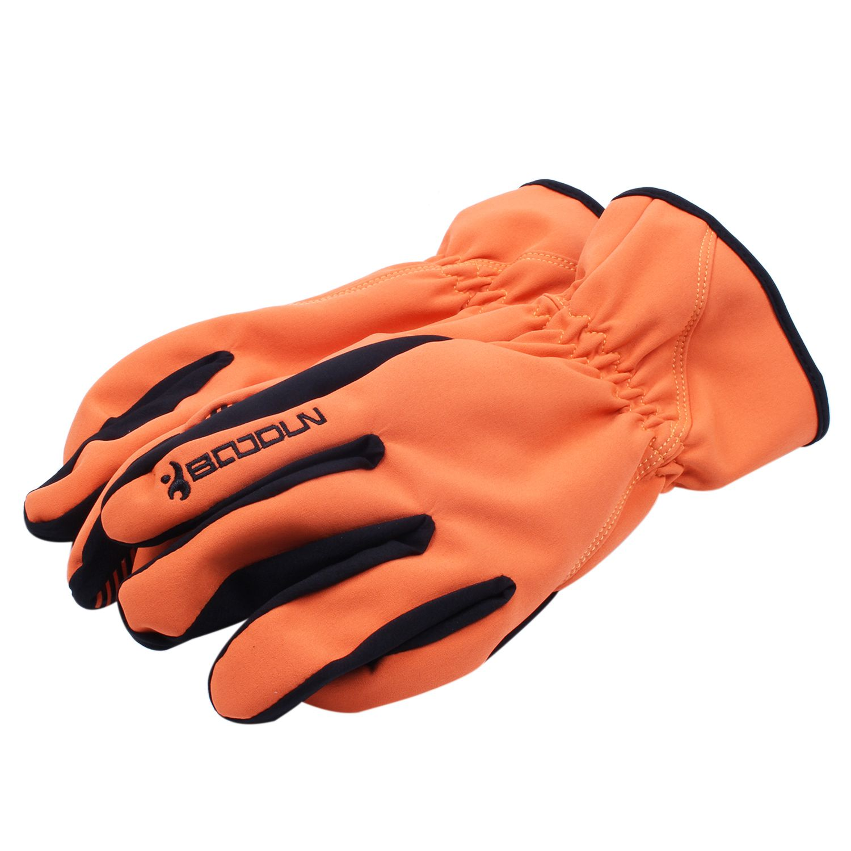 Boodun Unisex Winter Warm Windproof Waterproof Skiing Snowboard Glove Motorcycle Riding Gloves Outdoor Sport Gloves