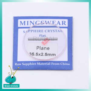 Image 4 - High End Sapphire Watch Glass Crystal,28mm~36.5mm 2.5mm Thickness Sapphire Watch Glass Replacement for Watchmakers