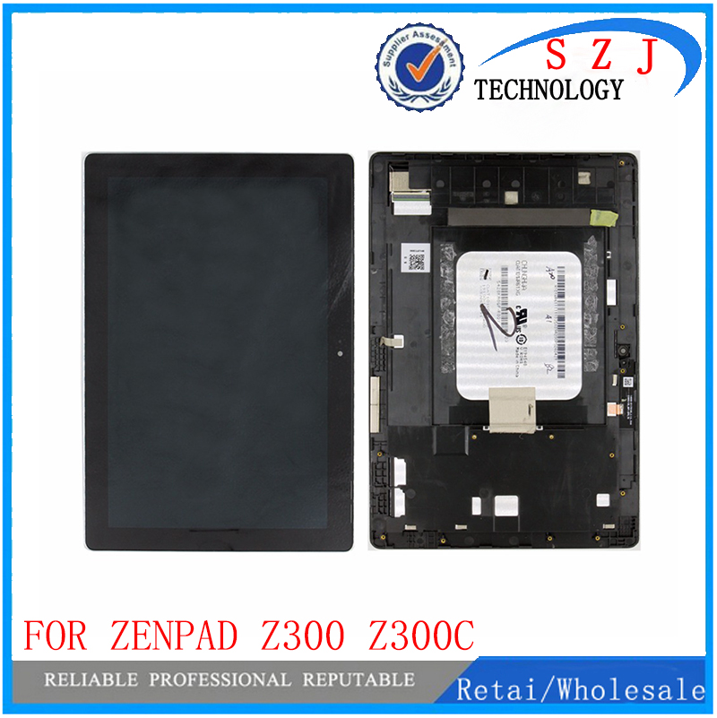 VBNM 10.1 case For Asus ZenPad 10 Z300 Z300C Z300CL Z300CG P023 LCD Display Touch Screen Digitizer Panel Assembly with frame