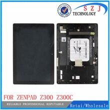 VBNM 10.1 carcasas Para Asus ZenPad 10 Z300 Z300C Z300CL Z300CG P023 Panel LCD Pantalla Táctil Digitalizador Asamblea con marco