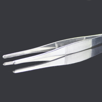 1pcs New 16cm Stainless Steel Industrial Anti-static  Round Head Medical Tweezers Excellent Quality