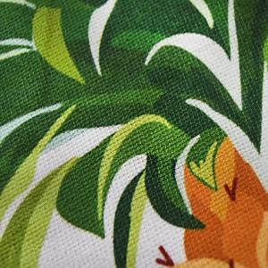 Image 4 - 150cm Picnic Yoga Mat Blanket Carpet 500g Microfiber Microfiber Flamingo Printed Round Tassel Beach Towel