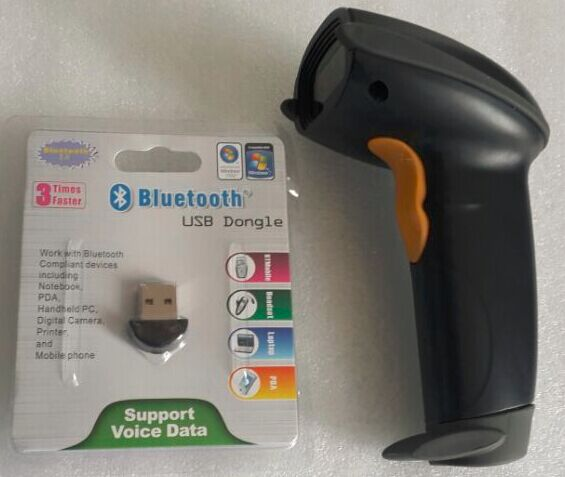 Free shipping high speed and low power consumption bluetooth handfree barcode scnner BC2 ...