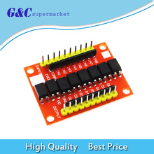 цена на 8 Way Optocoupler Isolation Board Module 12V High Level Trigger Device for PCB