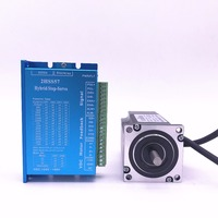 57J1880EC 1000+2HSS57 57 Closed loop Nema23 step motor 2.0N.m Nema 23 Hybird closed loop 2 phase stepper motor driver