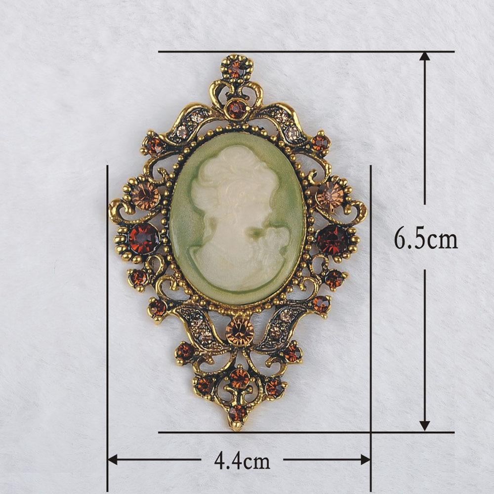 Me pakicë! Clear Auste Crystal Rhinestone Vintage Style Fashion - Bizhuteri të modës - Foto 2