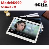 2019 newest 10.1 inch tablet pc Android 7.0 RAM 4GB ROM 64GB Dual SIM Bluetooth GPS 1920*1200 IPS tablets pcs free shipping