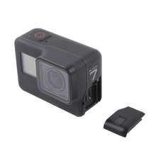 replace GoPro body Hero 7 black bare camera side opening cover case replacement USB Side Door accessories
