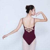 New Arrival Women Strap Gymnastics Leotard Adult Ladies Girls Ballet Dance Costume Camisole Bodysuit Ballet Dancewear