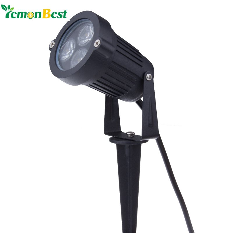 9w outdoor garden light led lawn lamp waterproof led flood spot light warm co. Black Bedroom Furniture Sets. Home Design Ideas