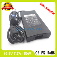 Slim Ac Adapter 19.5V 7.7A laptop charger for Dell Alienware 15 R1 M15x Inspiron M170 M1710 M2010 9100 9200 DA150PM100 00