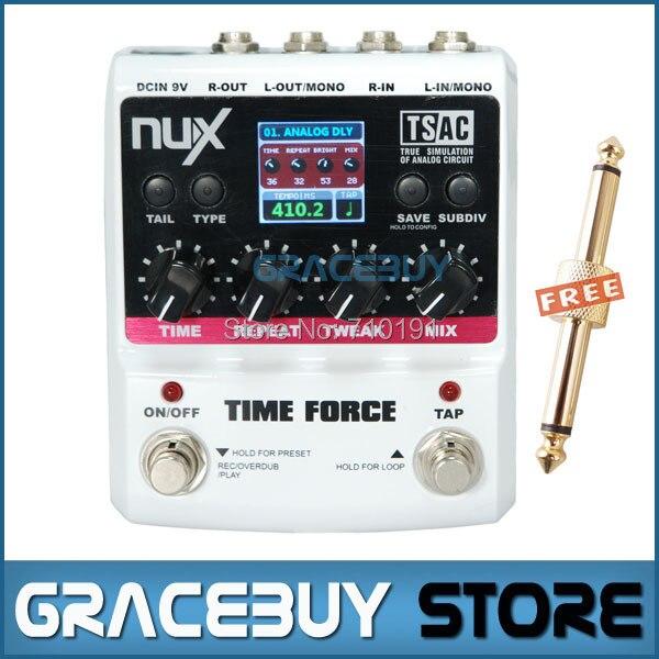 Cajas NUX Stomp 11 retardo modelos de guitarra eléctrica TIME FORCE Multi efecto