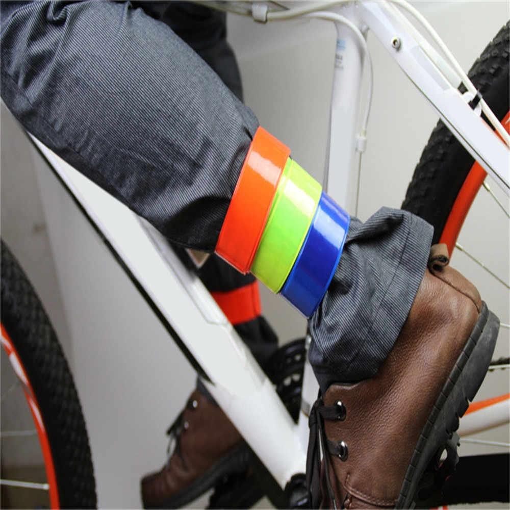 Peralatan Berkemah Alat Outdoor Sepeda Reflektif Aman Kaki Celana Klip Tali Beam Band Bawah Sabuk Pertempuran Malzemeleri0.6 CP