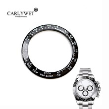 Wholesale High Quality Ceramic Black with White Writing Watch Bezel for 116500 or 116520