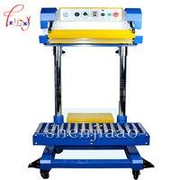 1PC 220V/110V Pneumatic sealing machine Plastic bags sealing machine QF 600L Fertilizer Bag Machine Food Machine Holding Bag