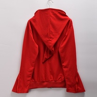 Halloween Cosplay Unisex Red Witch Hoodies With Hat Black Wizard Hooded Jacket Outwear Coat Costume