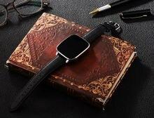 Lonzune Curved 1,54 inch IPS 3D HD Screen Smart Watch MTK2502 CPU Echt Pulsmesser Bluetooth 4,0 Lederband Smartwatch