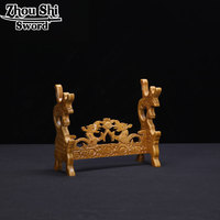 Home Decoration Solid wood Wood frame Dragons Japanese Katana Sword Holder Stand Display Sword Decoration Supplies For All Sword