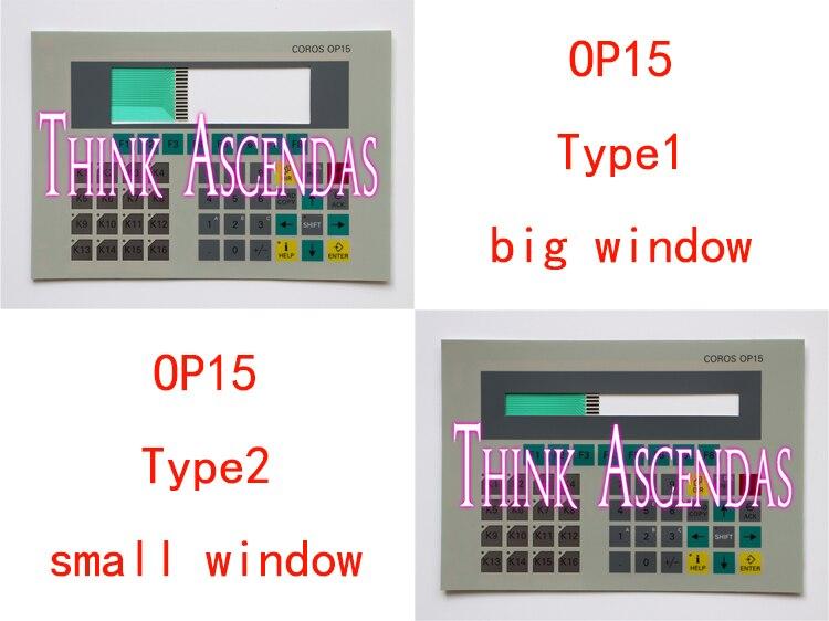 все цены на 1pcs New OP15 6AV3515-1MA20-1AA0 6AV3 515-1MA20-1AA0 / OP15 6AV3515-1EK30-1AA0 6AV3 515-1EK30-1AA0 Membrane Keypad Type1 Type2 онлайн