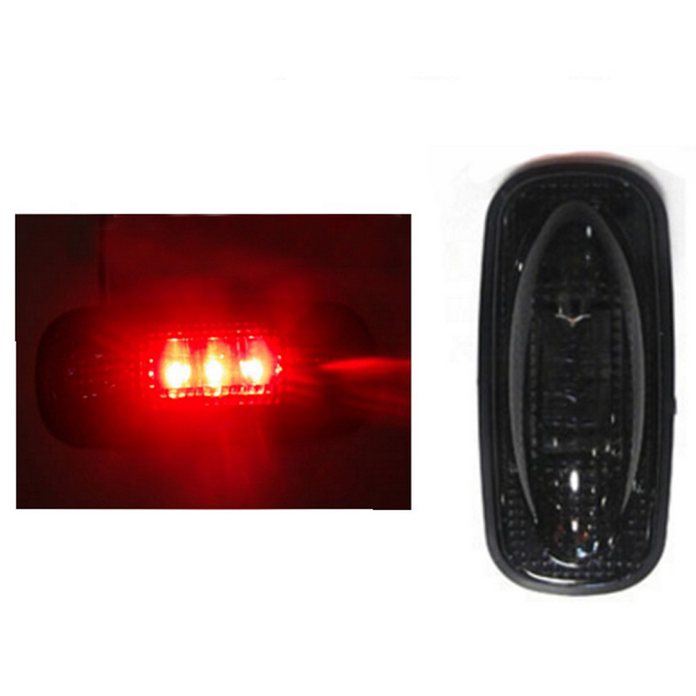2 colors For Ford F350 F450 LED For Fender Bed Side Marker Lights Lamps Smoke Lens Auto Car LED Side Marker Turn signal Lights