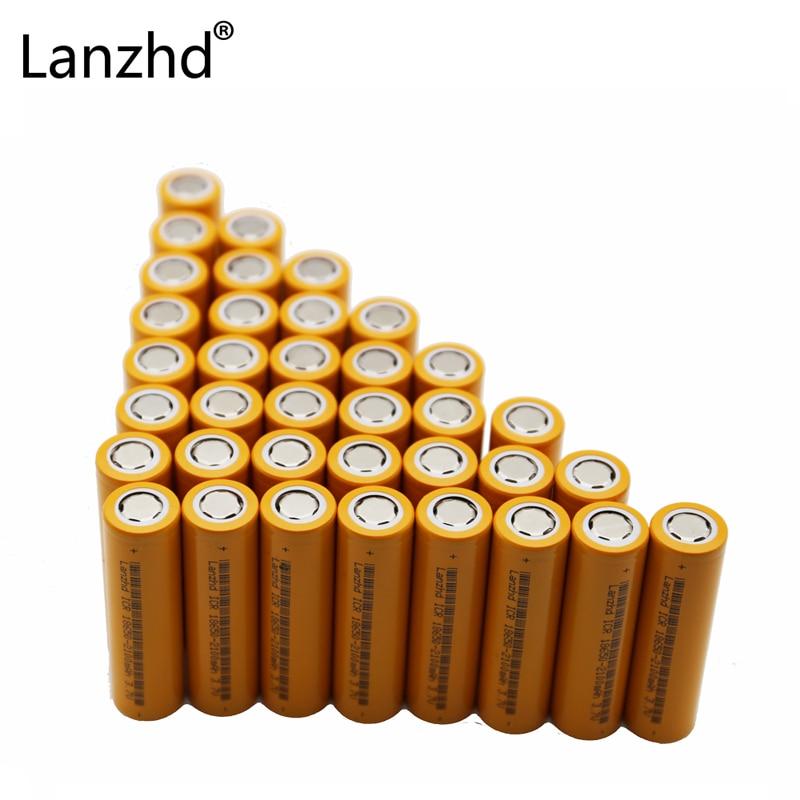 40pcs Li batteries 18650 rechargeable Battery for LED Flashlight Original Batteries ICR18650 26F 2600mAh Li ion 3 7v Battery in Rechargeable Batteries from Consumer Electronics