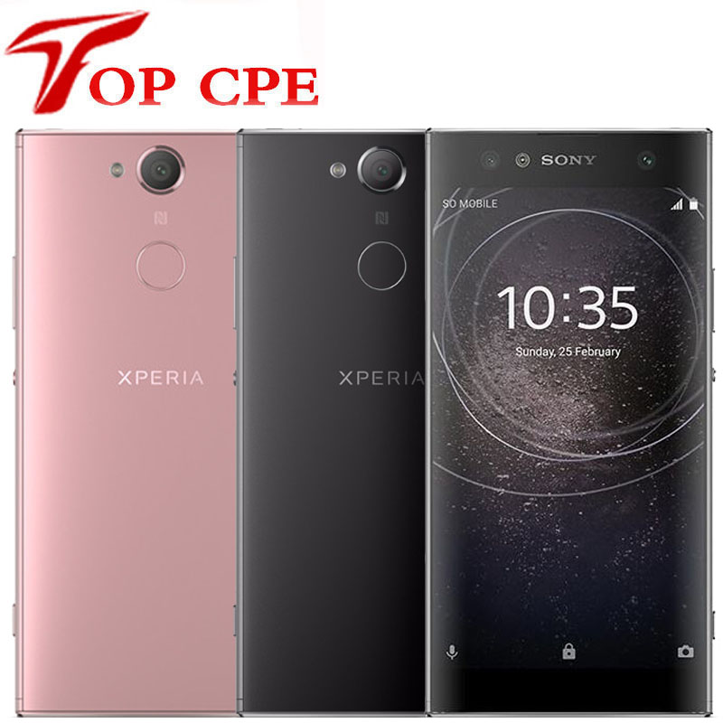 Sony Xperia XA2 Original Unlocked Mobile phone Octa Core 5.2 inch 3GB RAM 32GB ROM 23.0MP Camera 4G LTE Single SIM XA2 Smatphone(China)