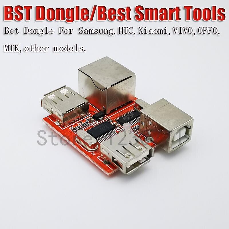 BST dongle for SAMSUNG HTC xiaomi oppo vivo unlock screen S6 S7 9500 lock  reparatie IMEI record datum Beste smart tool dong