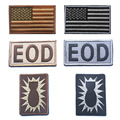 fans camouflage three piece armband EOD locker  embroidery the tactical military patches badges for clothes clothing HOOK/LOOP