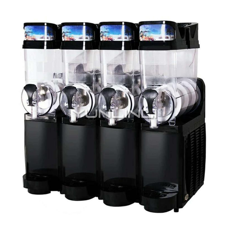 Commercial Slush Machine 4-tank Ice Drink Blender 60L Large Capacity Smoothie Maker TKX-04 sven rx 150