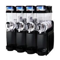 Commercial Slush Machine 4 tank Ice Drink Blender 60L Large Capacity Smoothie Maker TKX 04