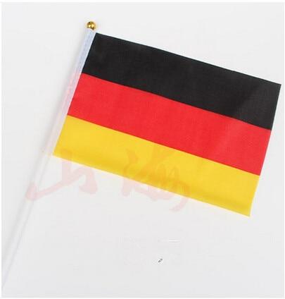 unidslote cm bandera de alemania agitando pequeas banderas ondean banderas