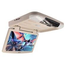 15.6 Pollice TFT LCD MP5 Car Monitor da Tetto USB SD IR FM con Telecomando Styling Auto Flip Down MonitorsCar accessori