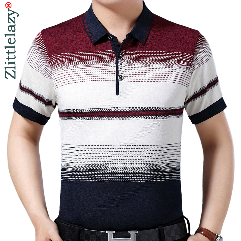 2019 brand casual summer striped short sleeve   polo   shirt men poloshirt jersey luxury mens   polos   tee shirts dress fashions 52015