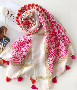 AS  FR83105 180x100CM automne design echarpe coton femme Pashminas ... 41f136d0c93
