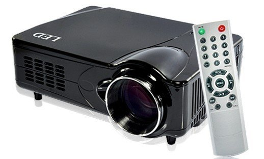 free shipping portable led projector support full hd 1080p(Brand New)